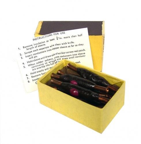 SOE/OSS Self-Soldering Joints, Boxed