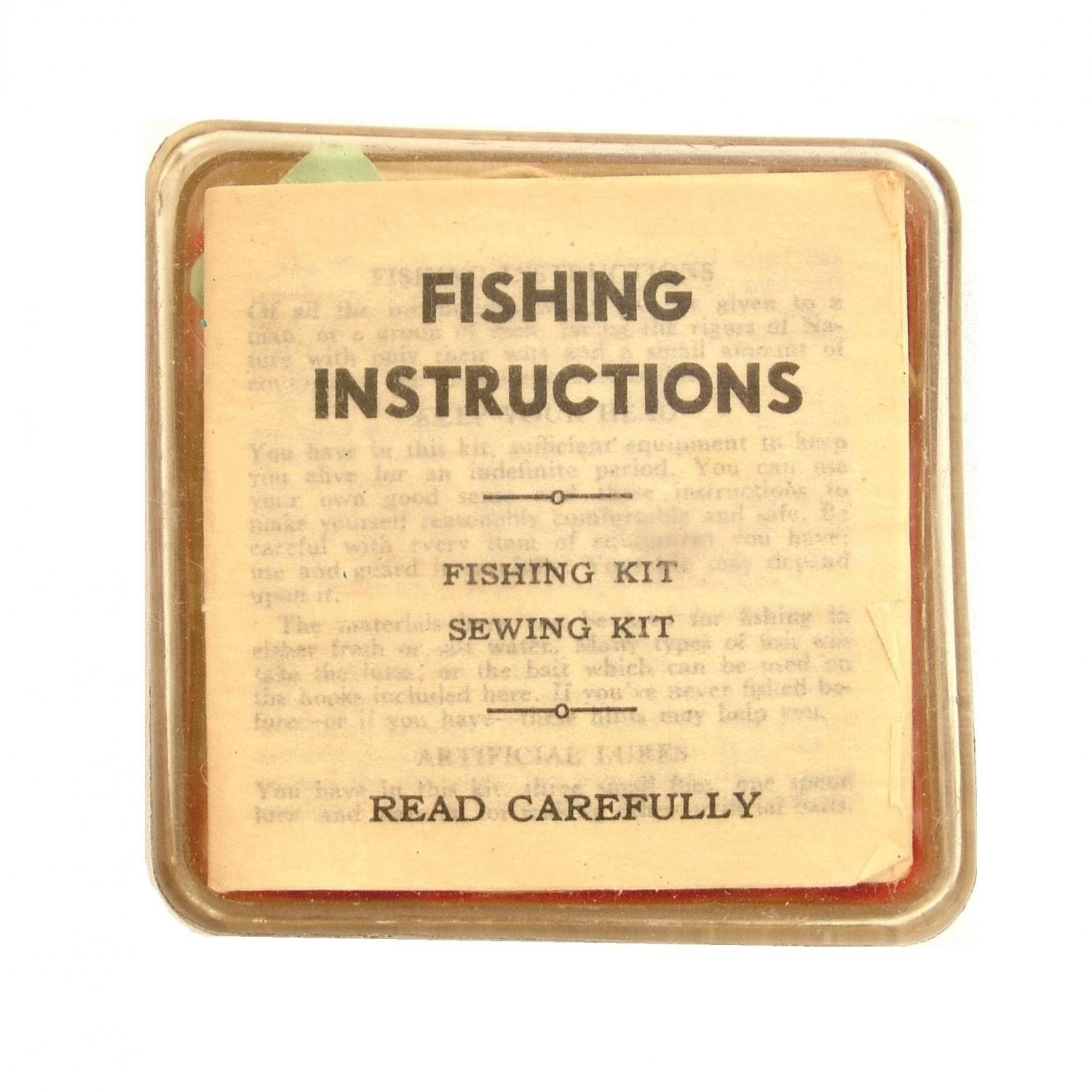 USAAF C-1 Survival Vest Fishing Kit