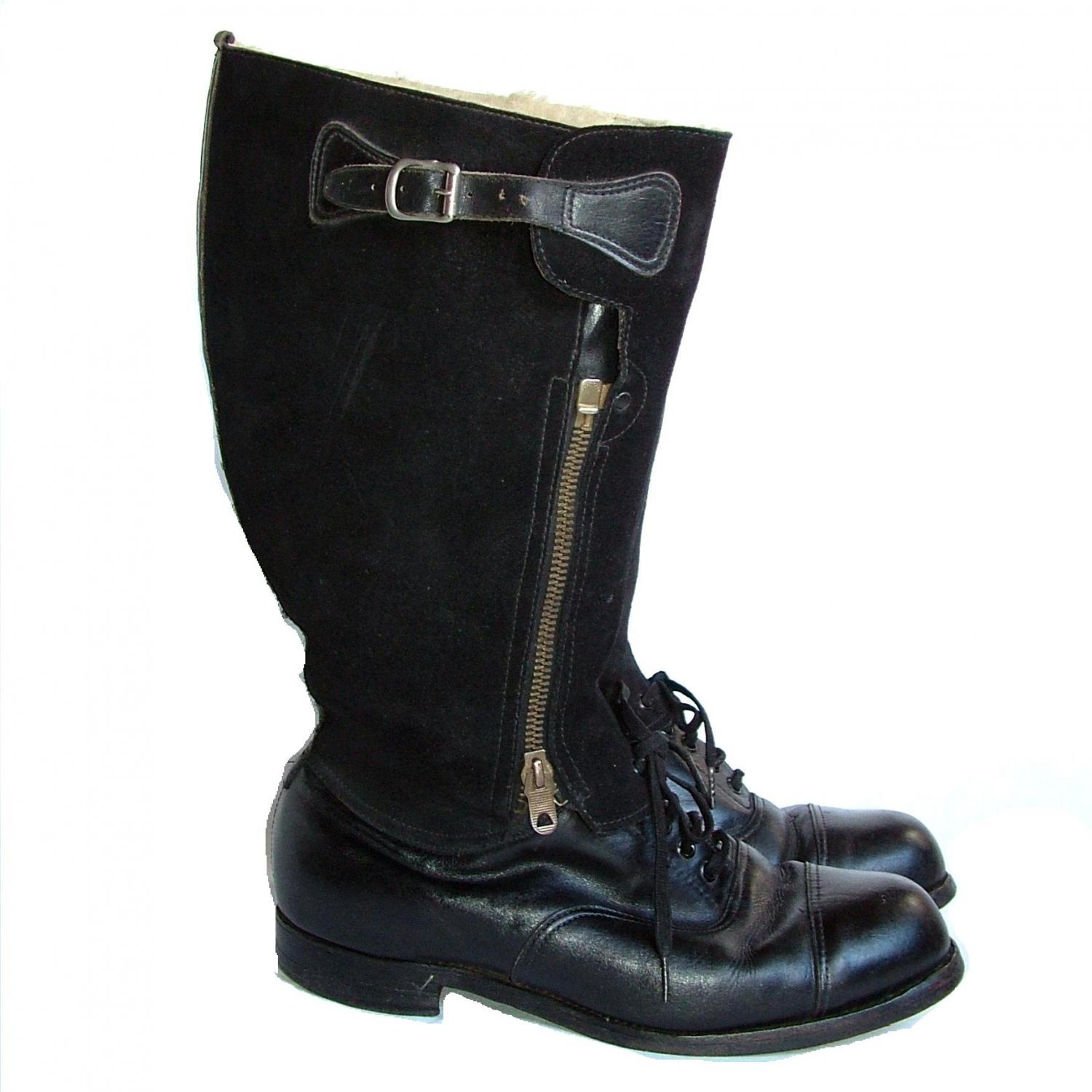 RAF 1943 Pattern Flying Boots, S7