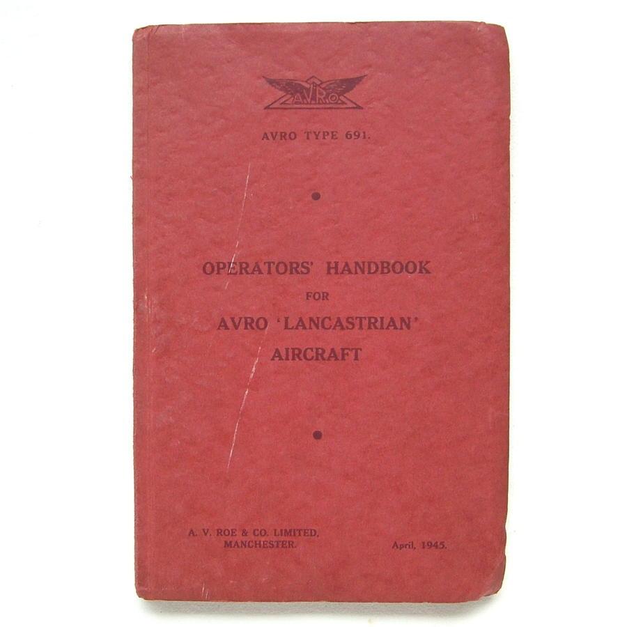 AVRO Lancastrian Operators' Handbook