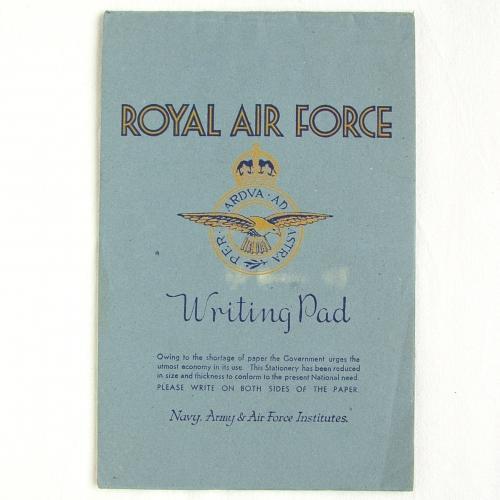 RAF Writing Pad