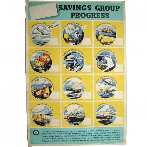 RAF ASR War Savings Poster