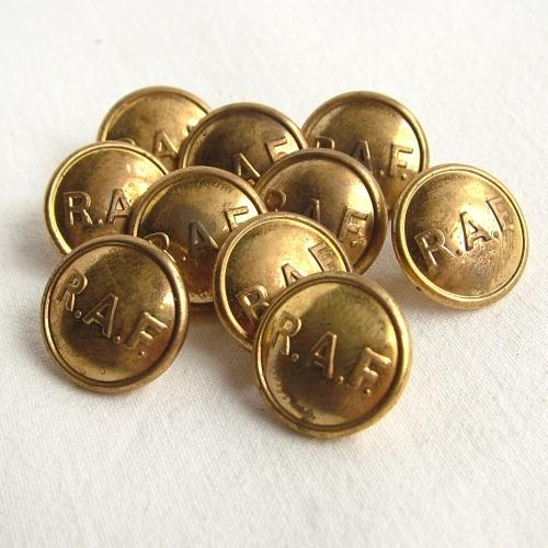 RAF Mess Staff Buttons