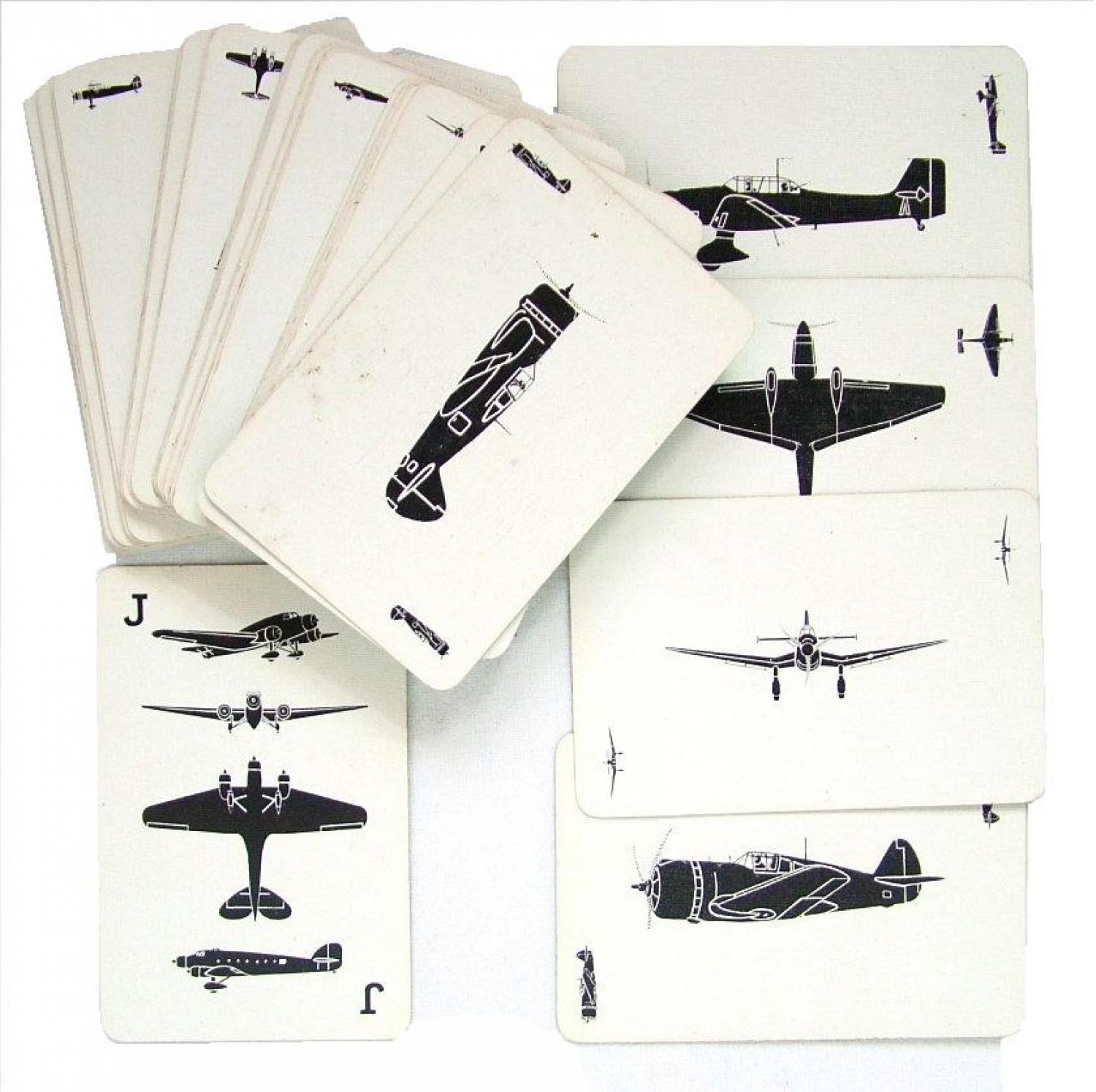 RAF Recognition Cards - Green Pack, 1941