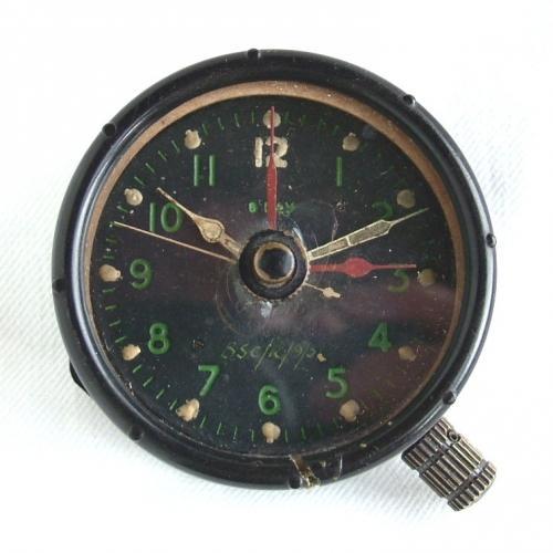 RAF Aircraft Cockpit Clock, MK.IID