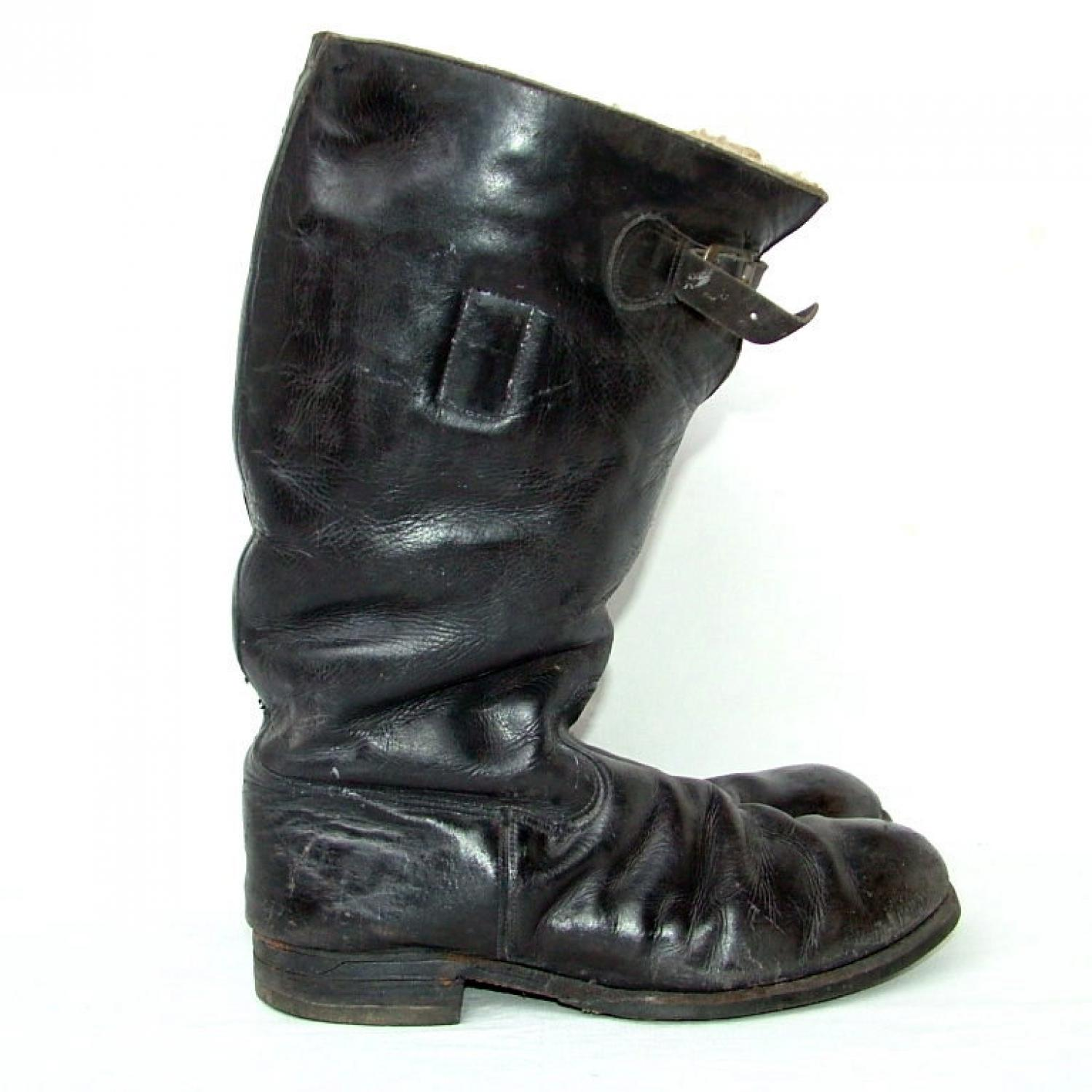 RAF 1936 Pattern Flying Boots - History
