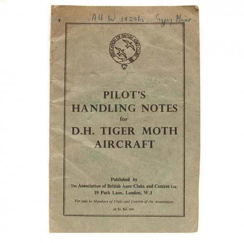 Pilot's Handling Notes - Tiger Moth
