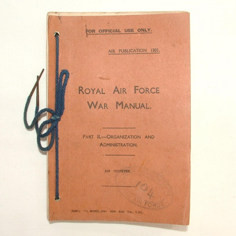 RAF War Manual, 1942
