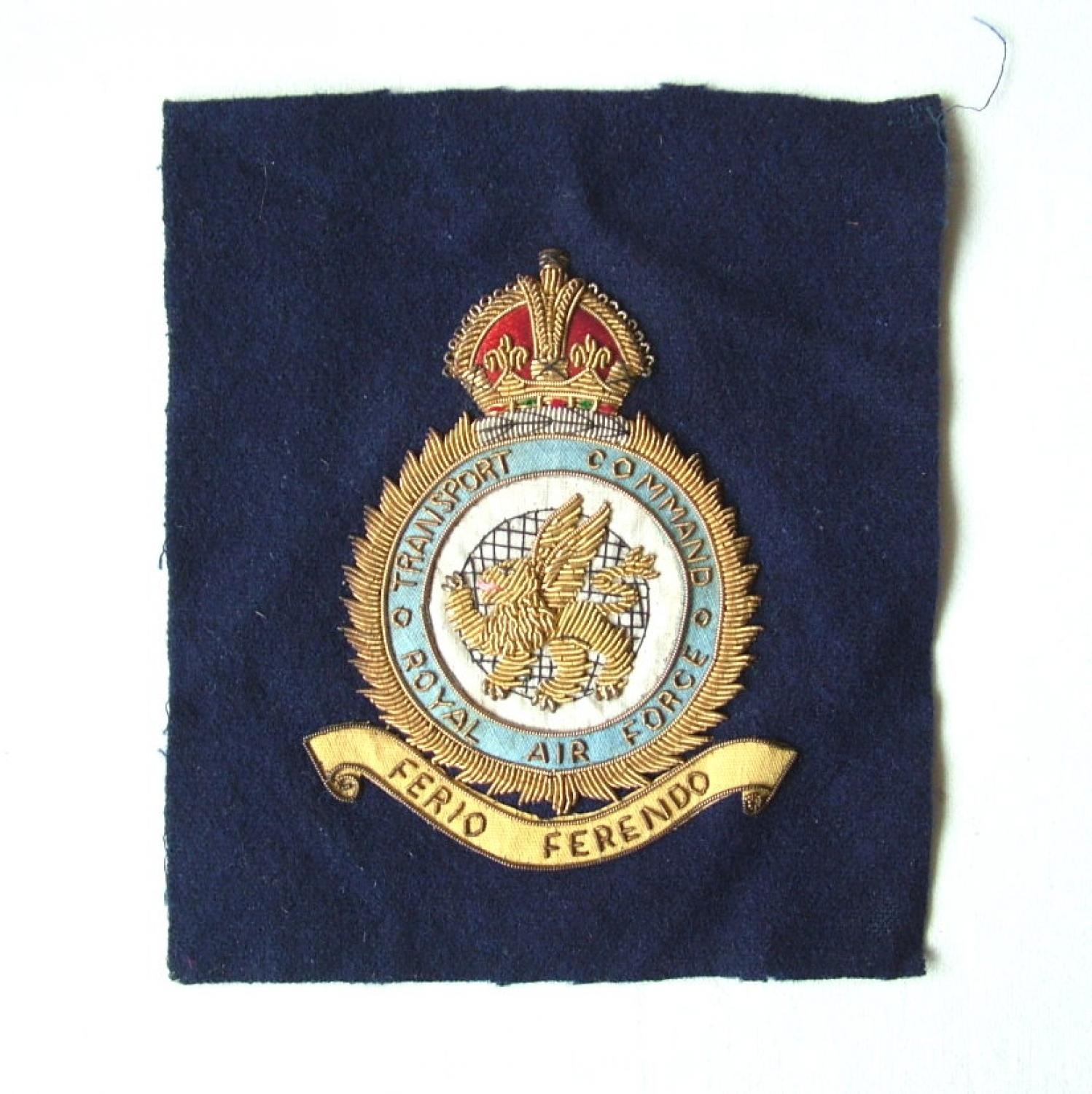 RAF Transport Command Patch