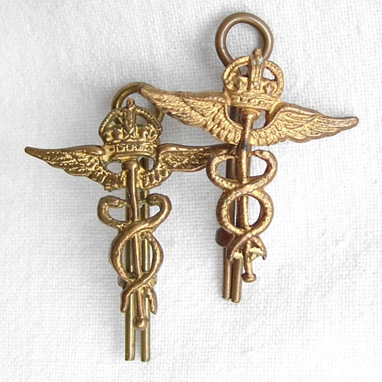RAF Medical Branch Collar Insignia