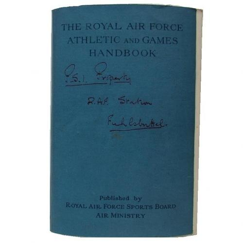 RAF Athletic And Games Handbook, 1946