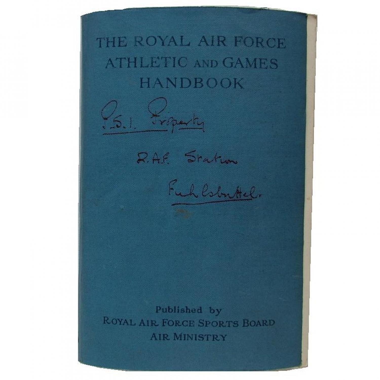 RAF Athletic And Games Handbook, 1946