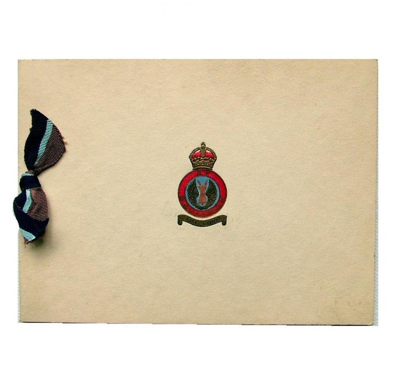 RAF XV Squadron Christmas Card