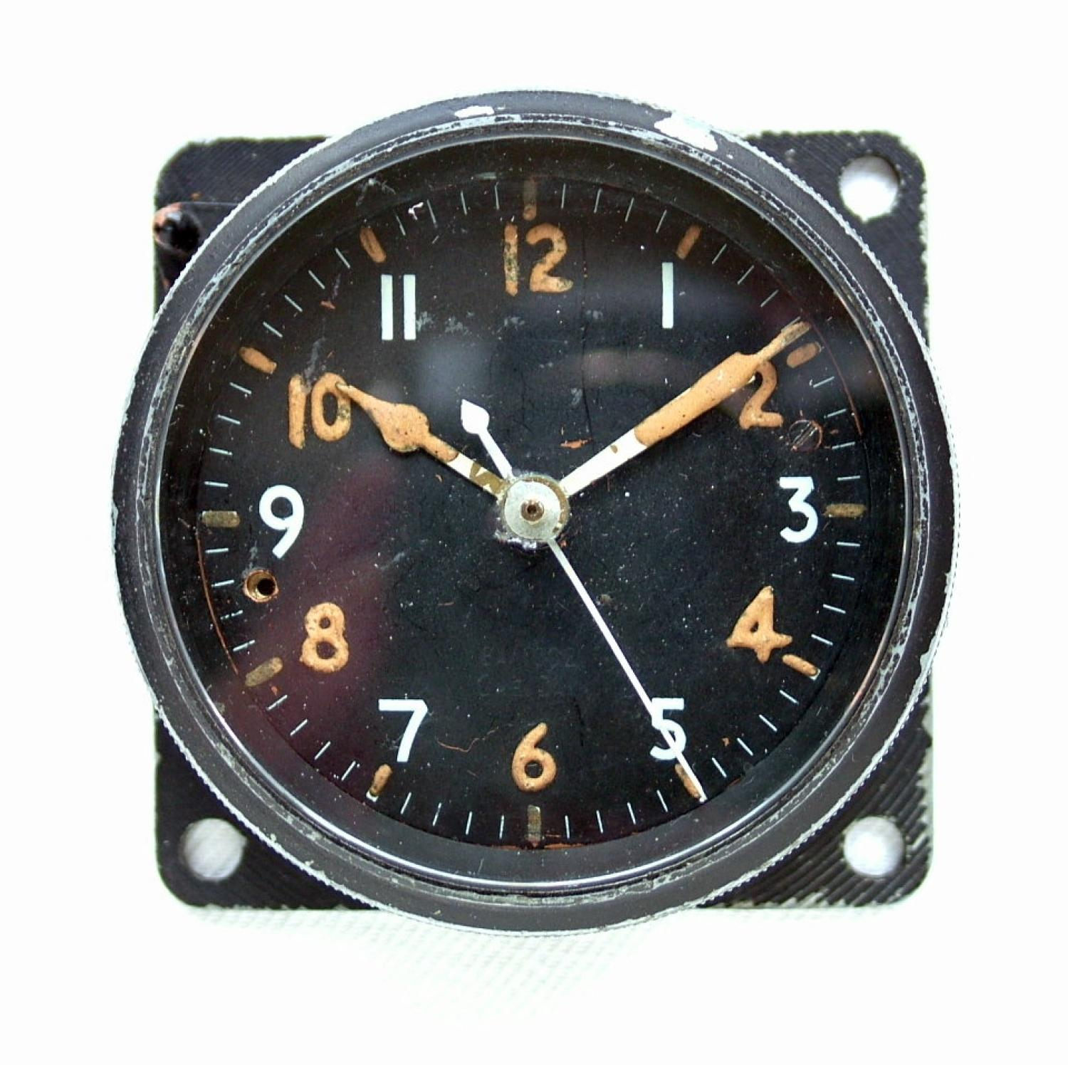 RAF / AM MK.IIA Aircraft Cockpit Clock