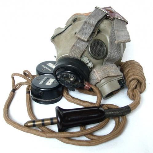 RAF Type G Oxygen Mask & External Loom