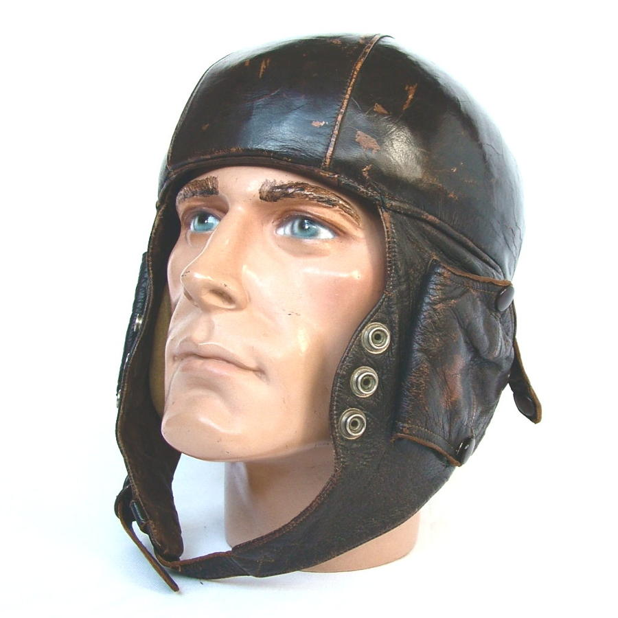 French Airaile Flying Helmet c.1940s