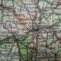 RAF Escape & Evasion Map - Zones of France - picture 9