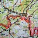 RAF Escape & Evasion Map - Saarbrucken - picture 6