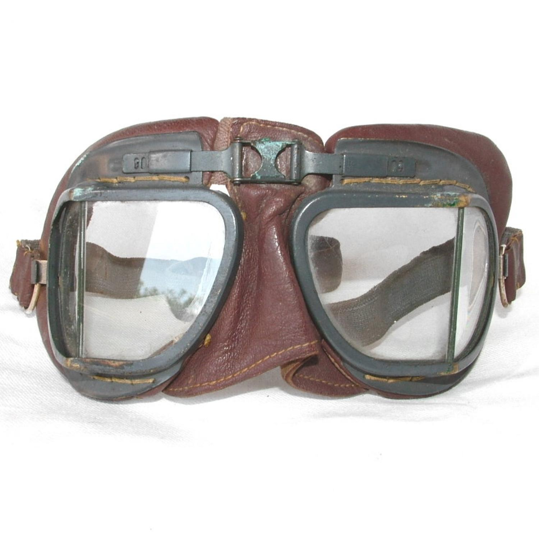 RAF MK.VIII Flying Goggles - History