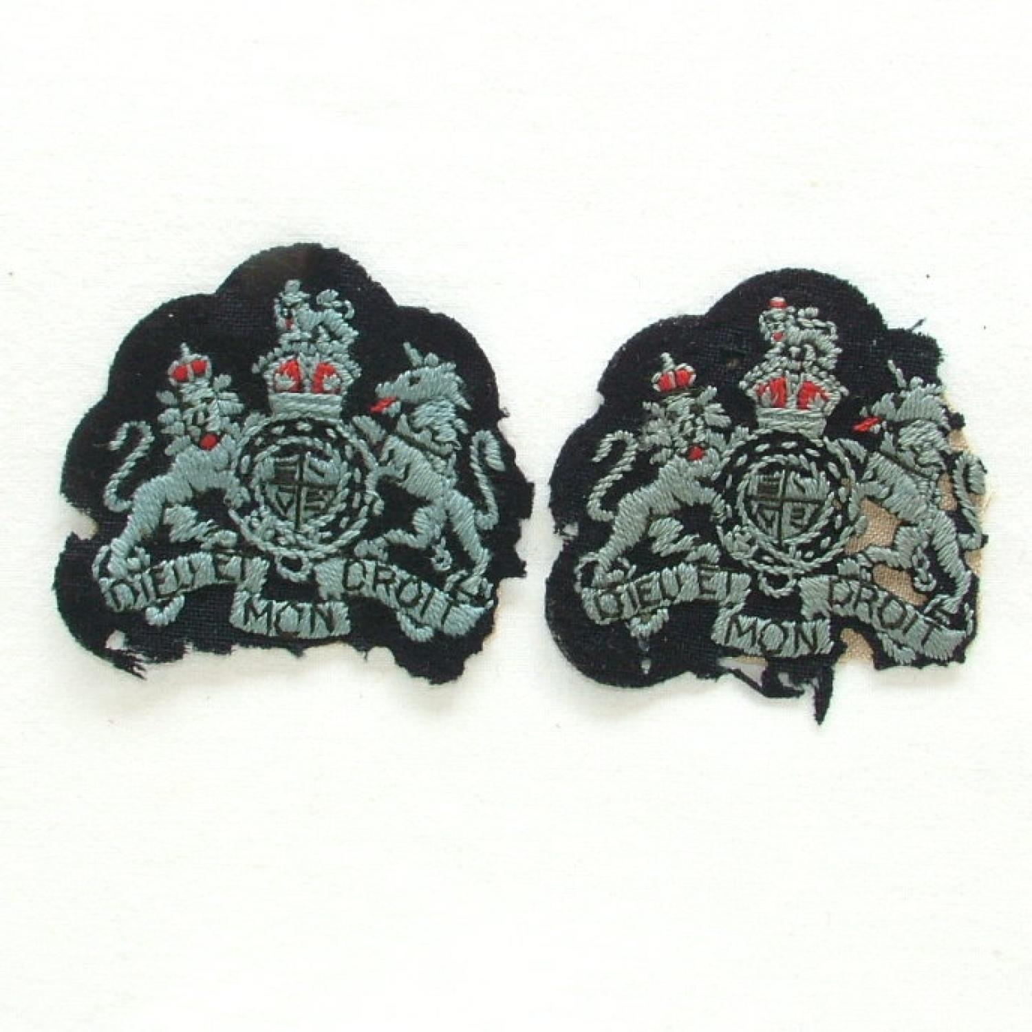 RAF Warrant Officer Badges