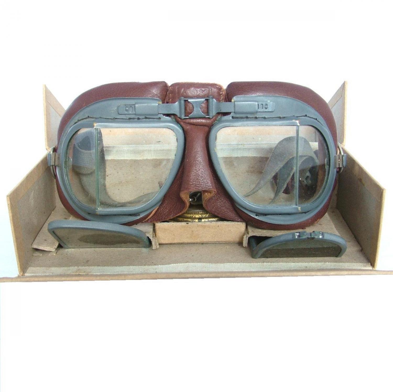 RAF MK.VIII Flying Goggles, Boxed