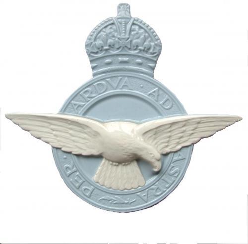Ceramic RAF Crest Plaque