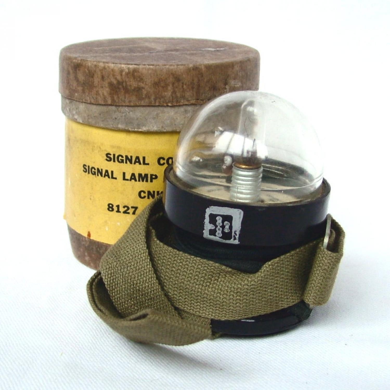 USAAF / RAF Dinghy Signal Lamp M-308-B