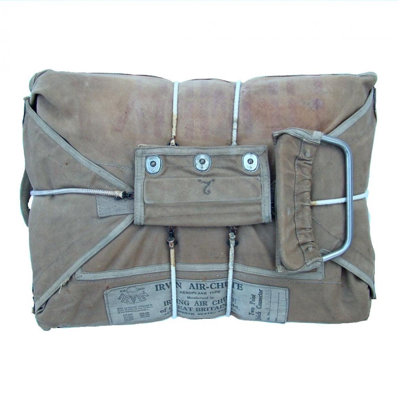 RAF Observer Parachute Pack & Metalwork