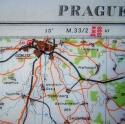 RAF Escape & Evasion Map - Prague - picture 7