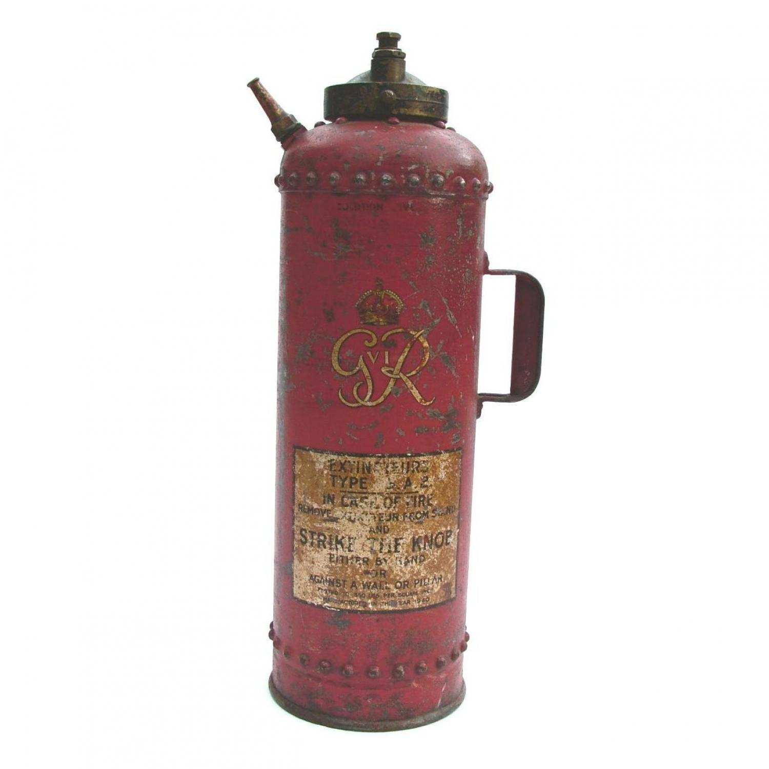 1940 Dated Fire Extinguisher