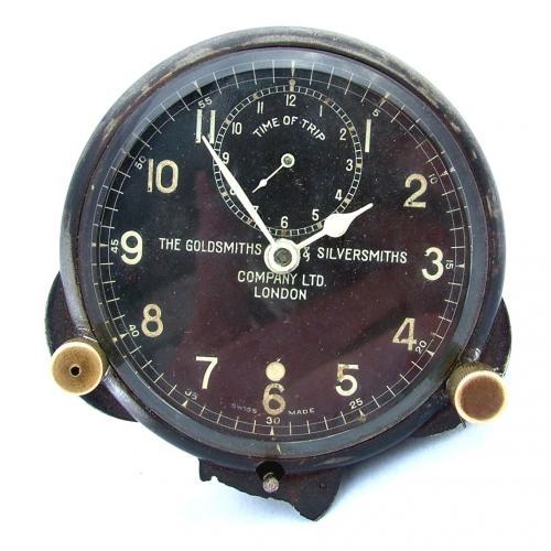 RAF 'Type' MK.IIIA Cockpit Clock