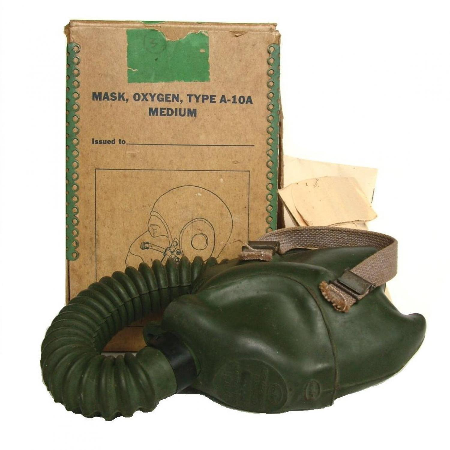 USAAF A-10A Oxygen Mask, Boxed