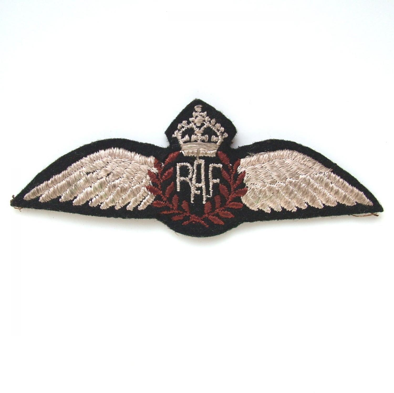 RAF Pilot Wing, KIA