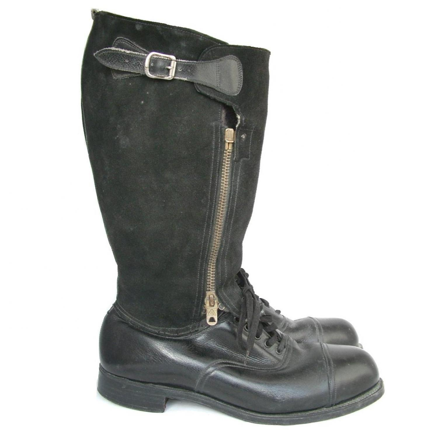 RAF 1943 Pattern Flying Boots, S9