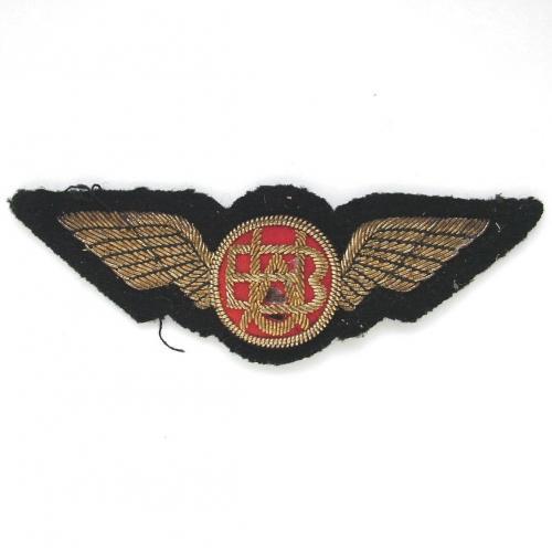 British United Airways Pilot Wings