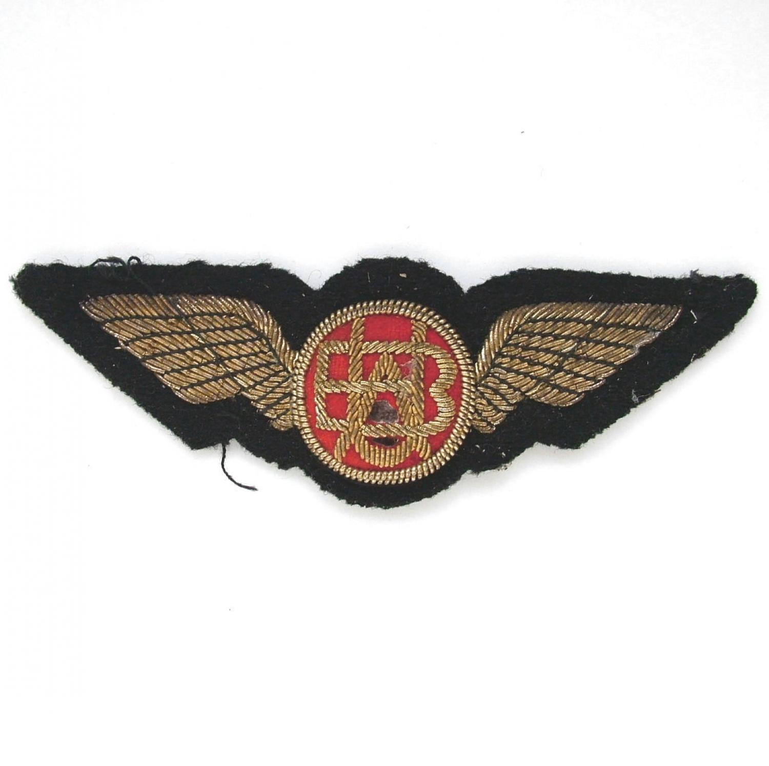 British United Airways Pilot Wings