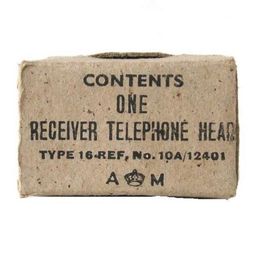 RAF Flying Helmet Receiver Box