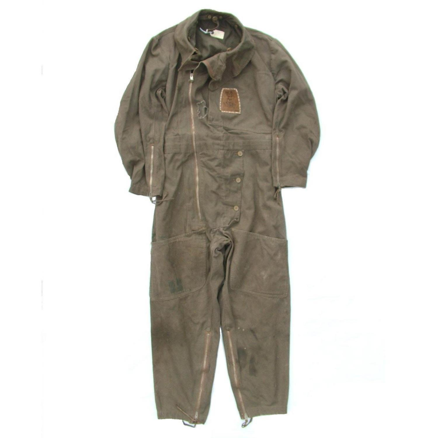 RAF 1940 Patt. Sidcot Flying Suit - History