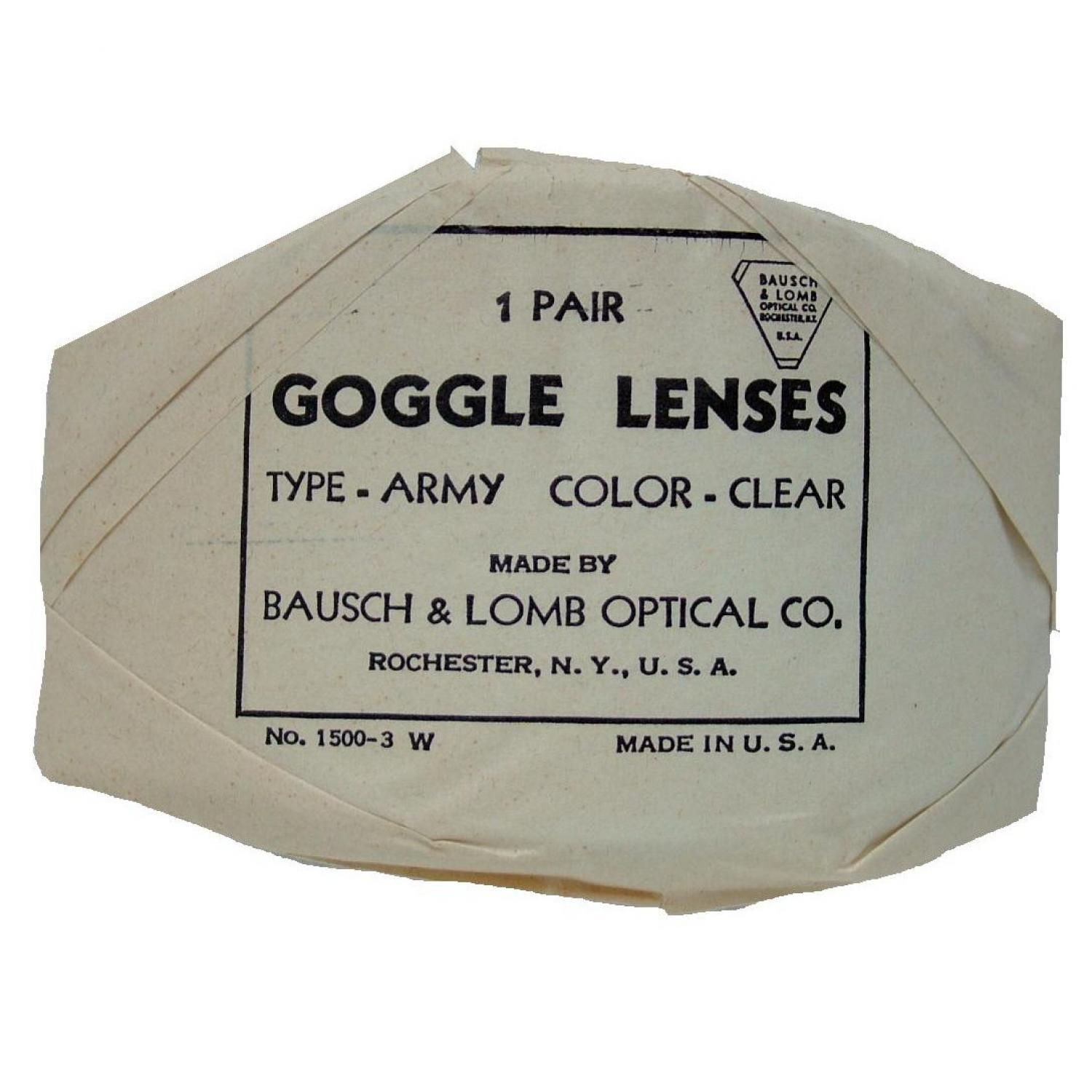 USAAF AN6530 Flying Goggle Lenses