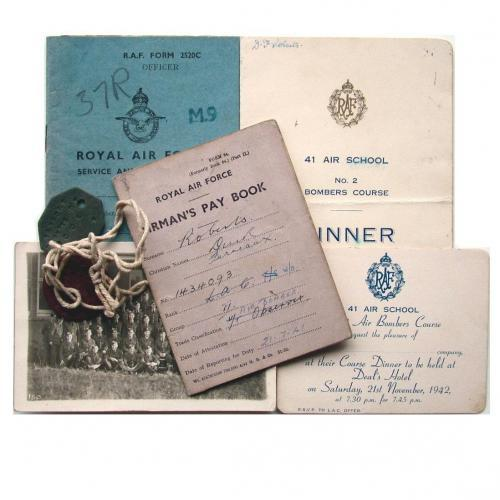 RAF Aircrew Observer's Documents / Tags