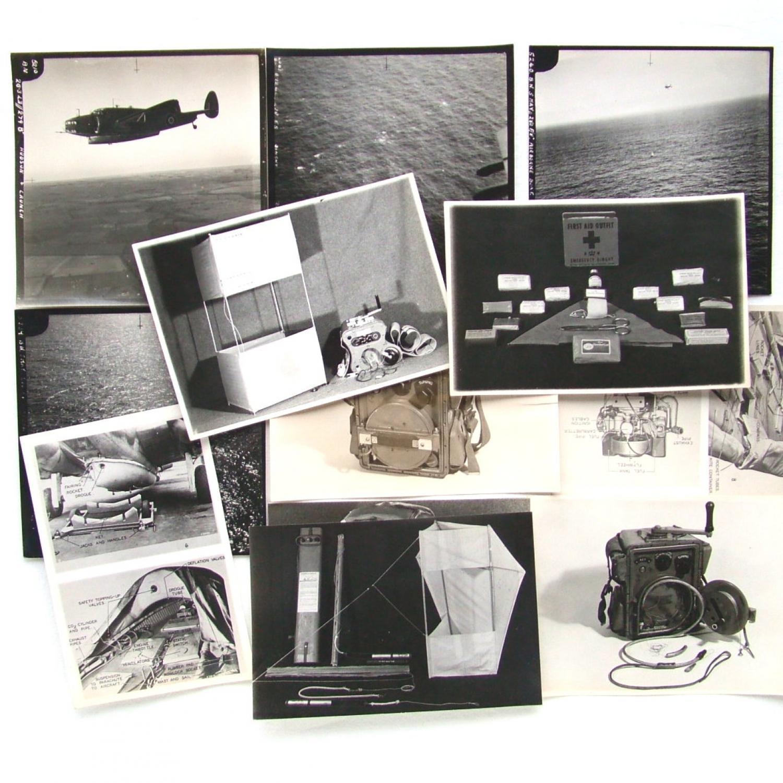 RAF Airborne Lifeboat Photos, 1943