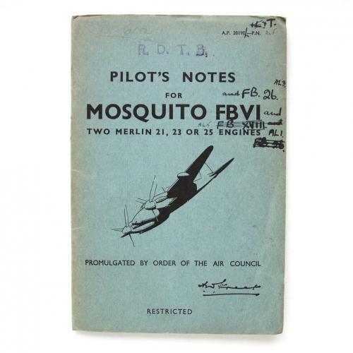 RAF Pilot's Notes : Mosquito FBVI - FB.26
