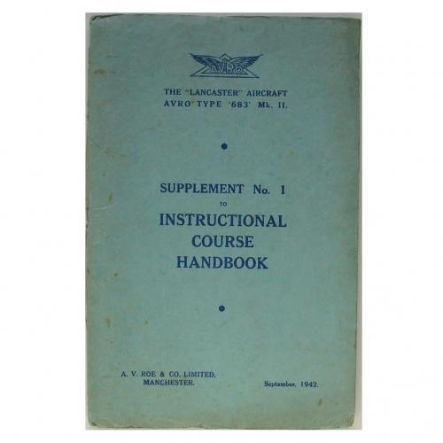 AVRO Lancaster Course H/B Supplement No.1