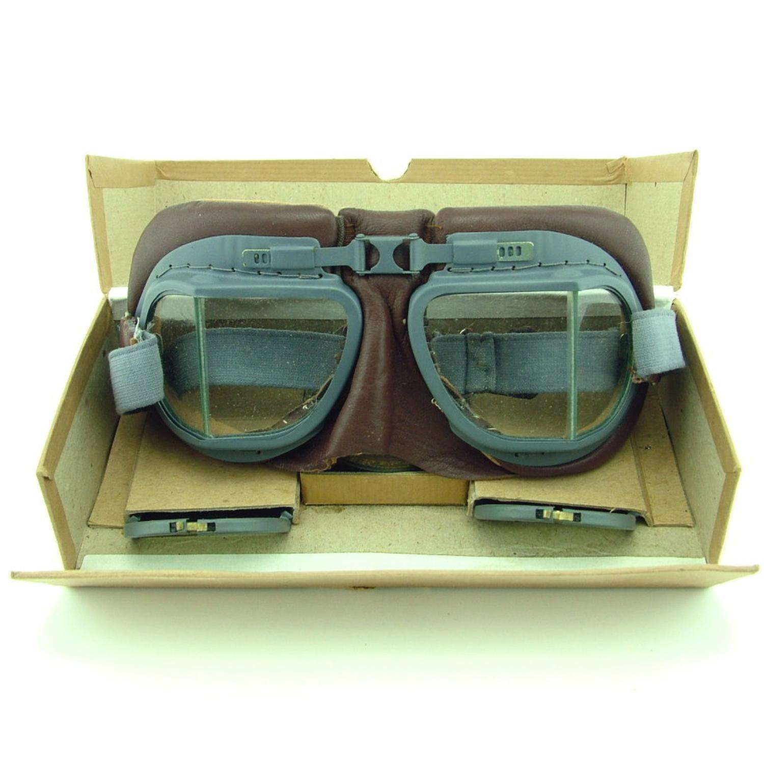 RAF MK.VIII Flying Goggles, Complete/Boxed