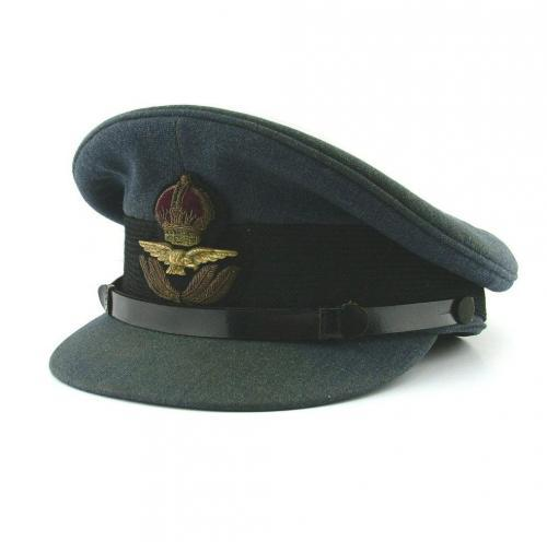 RAF Officer Rank Service Dress Cap - History