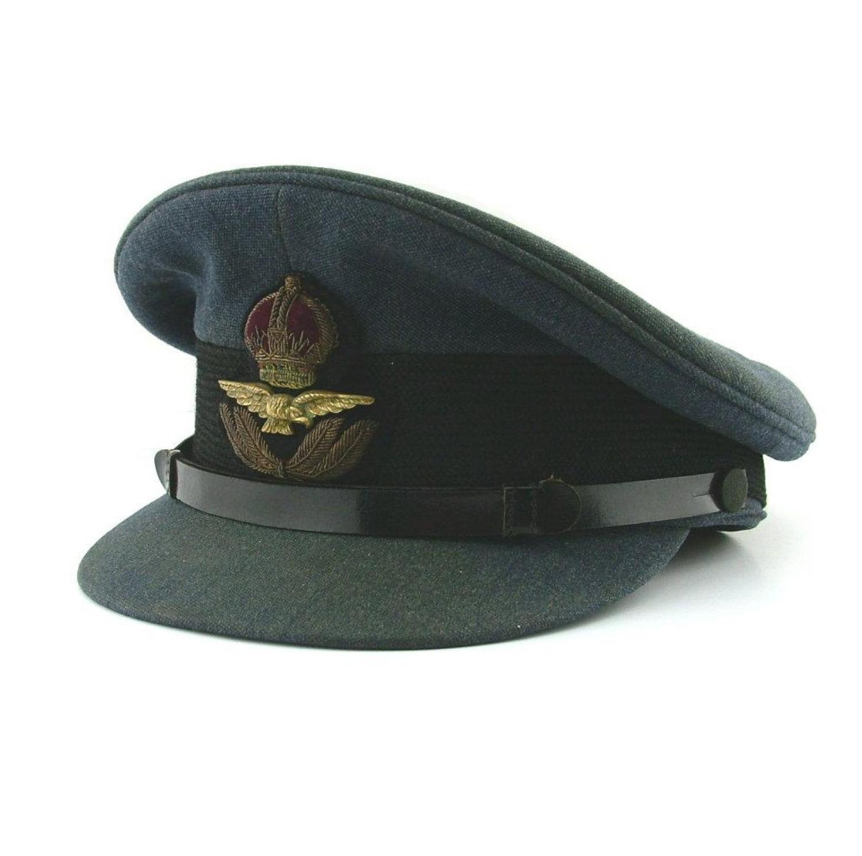 RAF Officer Rank Service Dress Cap - History