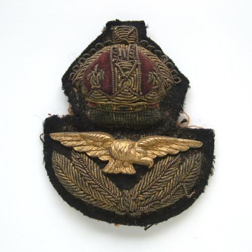 RAF Officer Rank Service Dress Cap Badge