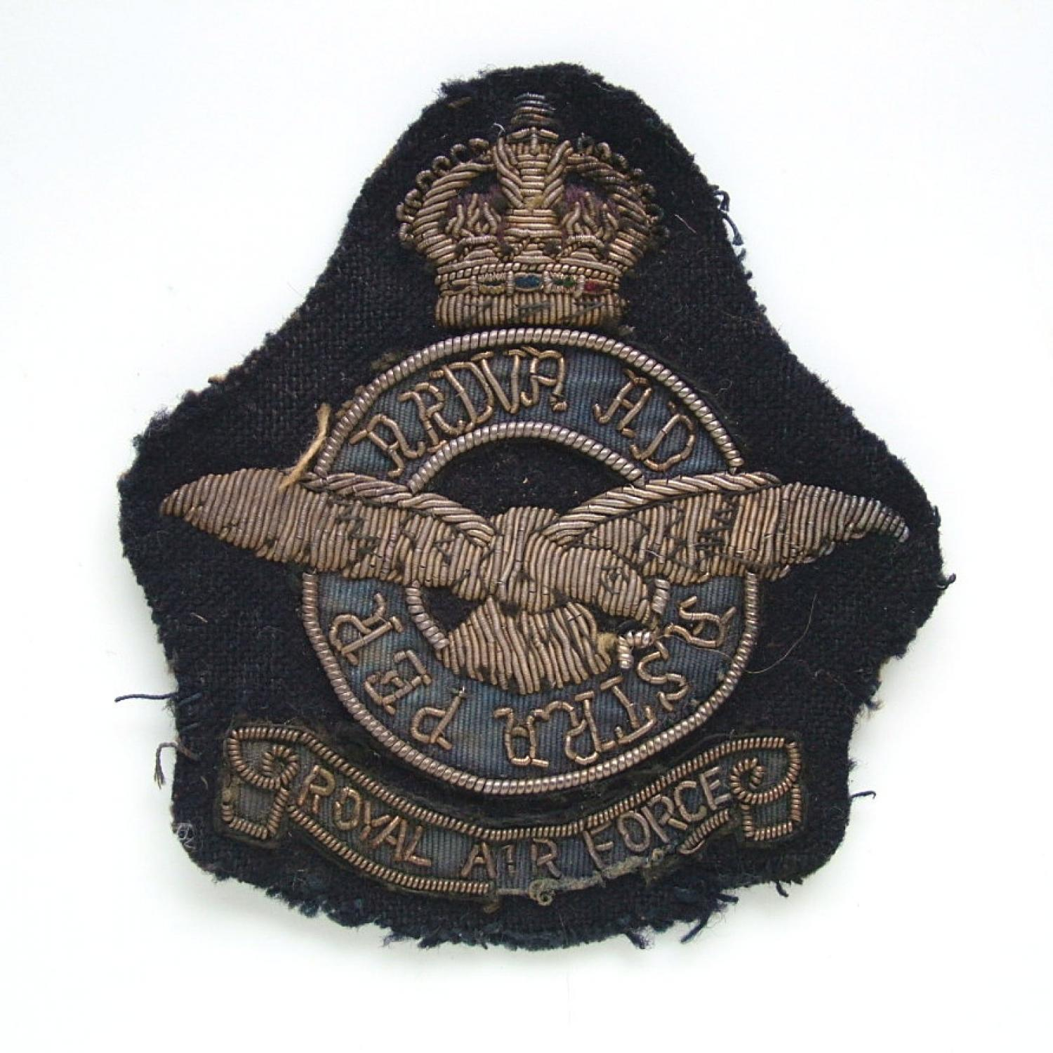 RAF Bullion Blazer Badge