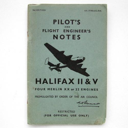 RAF Pilot's Notes : Halifax II & V