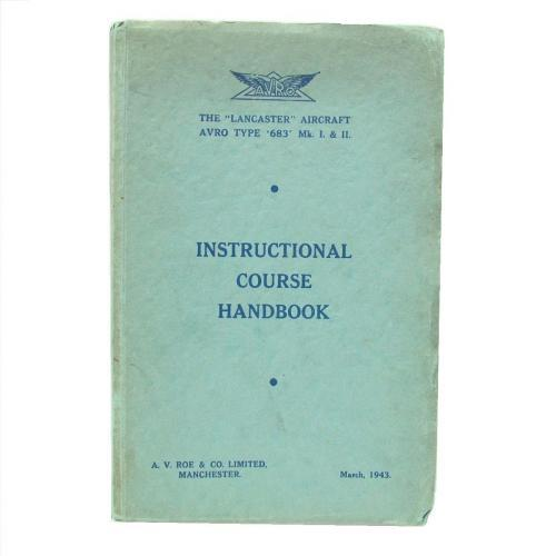 AVRO Lancaster Instructional Course Handbook
